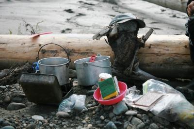 Alaskan Kitchen. How I cooked on the Yukon