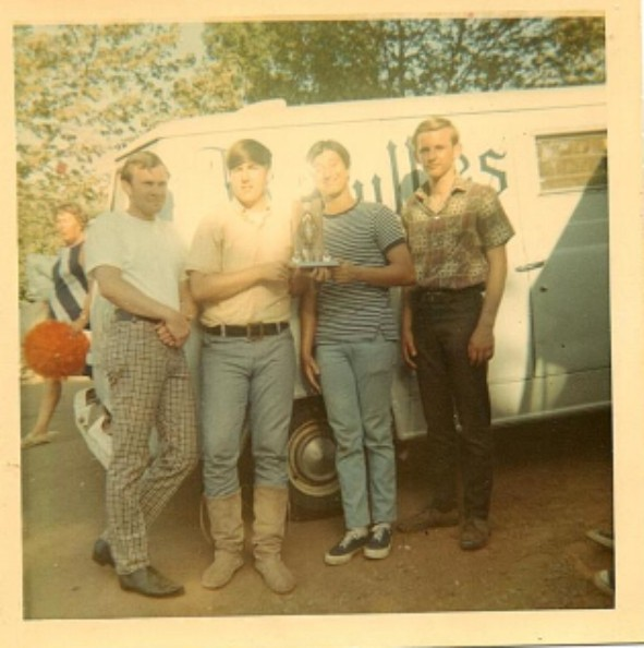 Rick Stephen, Dave Geffken, Steve Perry, and Bill Bilhou - 1968.