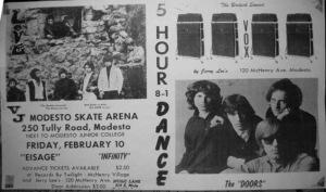 Love, Eisage, Infinity, The Doors (Modesto Skate Arena) - 1967