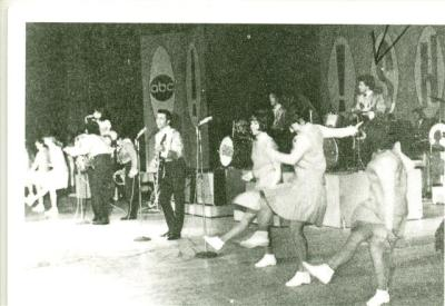"The Gauchos performing on ""ABC's"" ""Shindig."":"