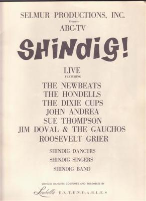 """Shindig"" Tour"