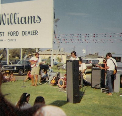 Performing at  J.H. Sanders Ford in Clovis, CA.