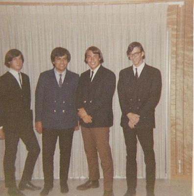 L to R: Steve Dunbar, Bill Lerma, Greg Dunbar, and  Kirk Pool.