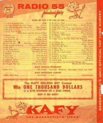 KAFY Radio - Bakersfield, CA