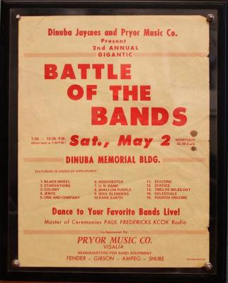 Battle of the Bands - Dinuba, CA