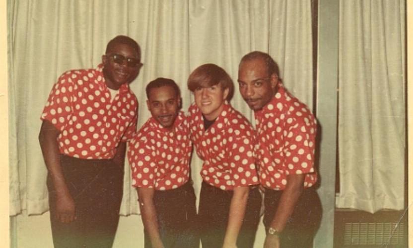 L to R: Joe Louis Pierre, Mister Brown, Davey Geffken, Al Jackson.