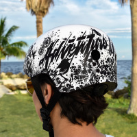 Hand Lettering Illustration Typography Custom Helmet