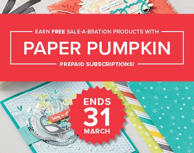 Paper Pumpkin Promotion!
