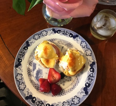 National Work in your Pajamas Day/National Eggs Benedict Day
