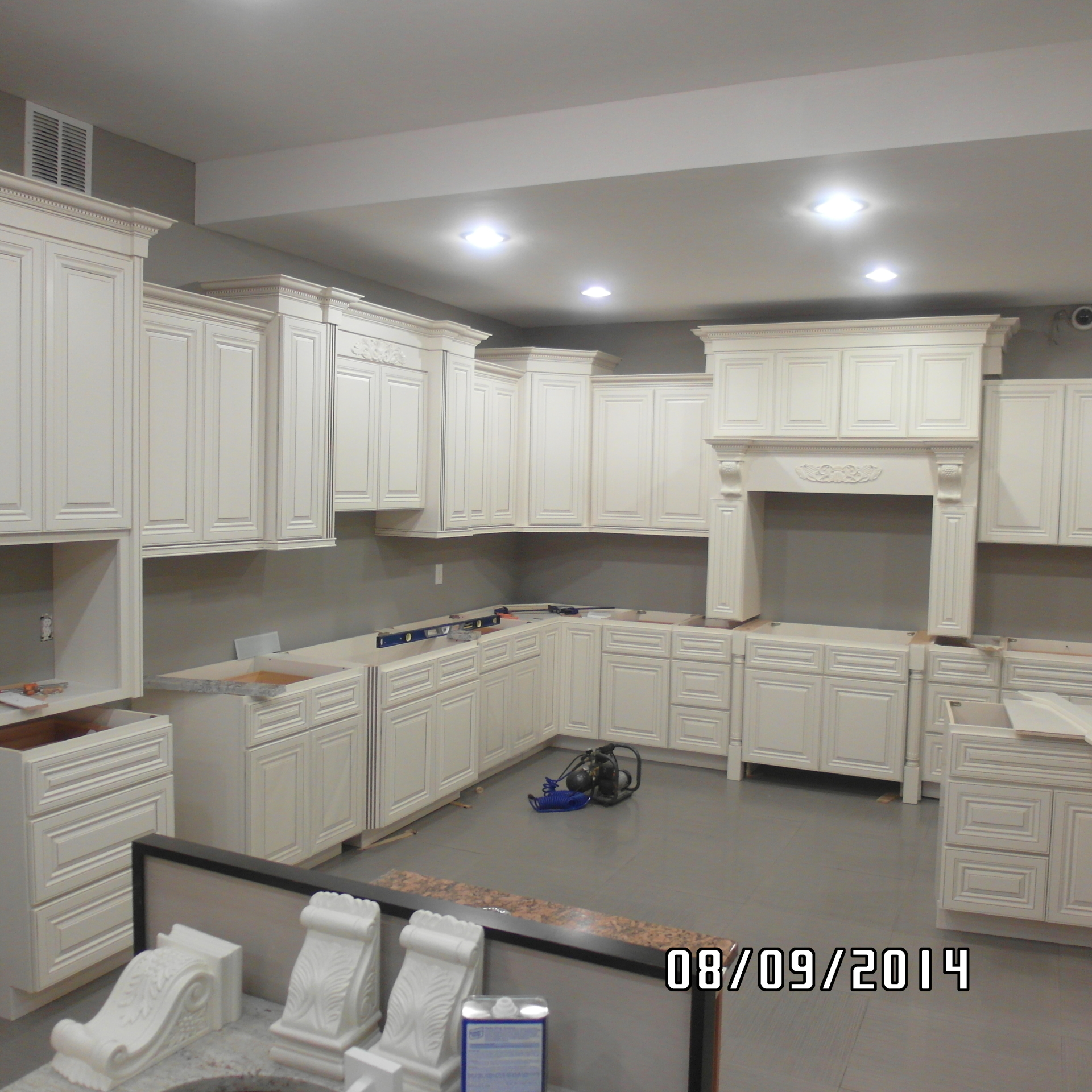 PREFABRICATED CABINETS
