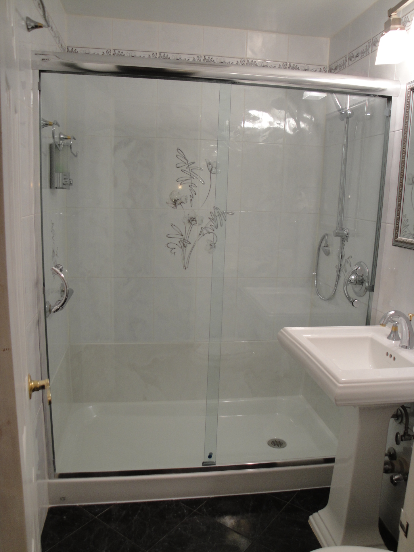 Conversion Tub To Walk-in Shower