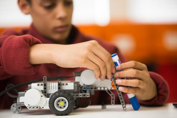 Play with Lego WeDo Robotics until you are ready to learn how to build and program a Lego Mindstorms robot, compete in regional Robotics competitions and make new friends at our various Robotics clubs and workshops.