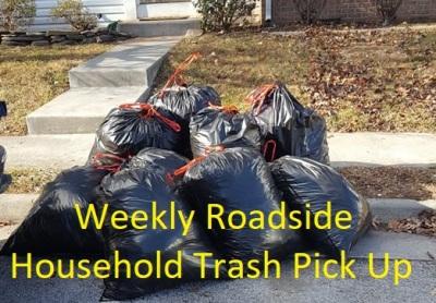 Weekly Trash Service