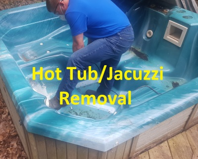 Hot Tub/Jacuzzi Removal