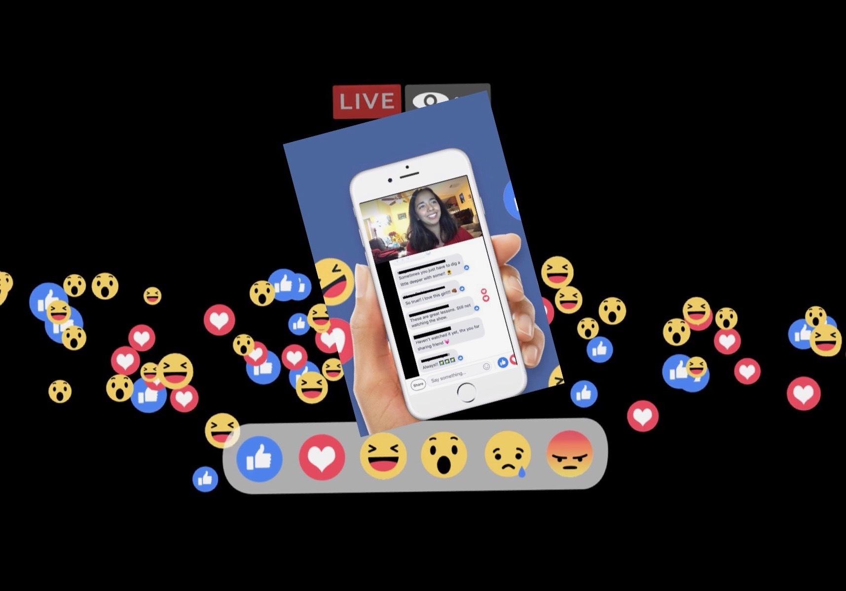 Lights, camera, FB LIVE!