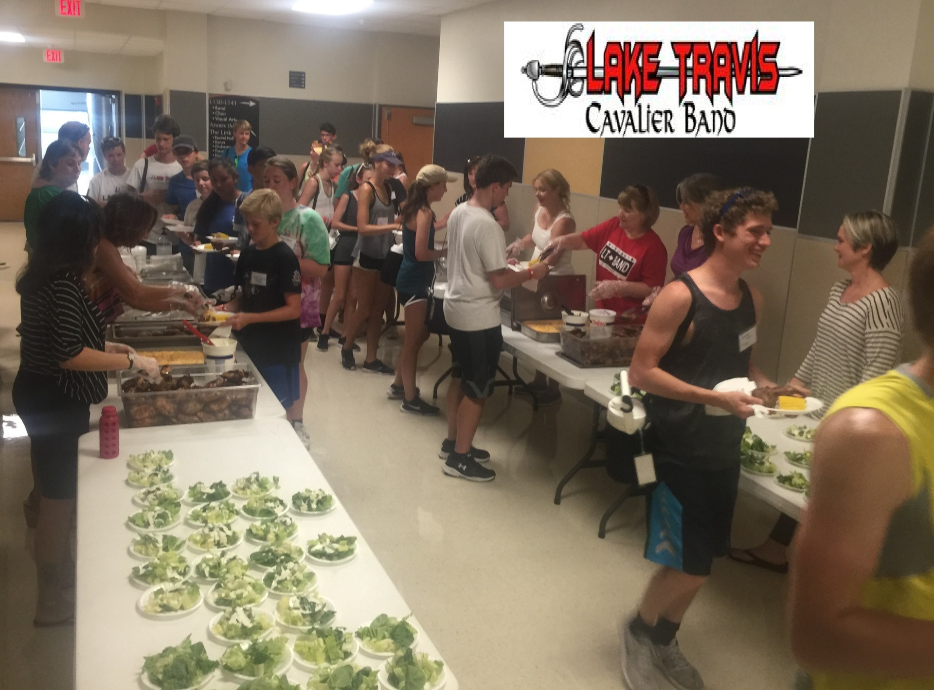 Large groups catering