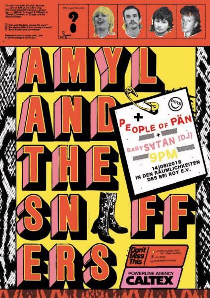 Amyl and the Sniffers + People of PÄN + Baby Satan Records DJ set