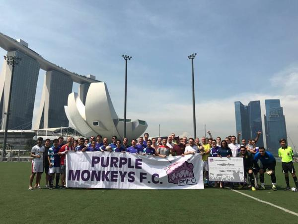 Charity Super Bowl Cup 2017 - Floating Pitch