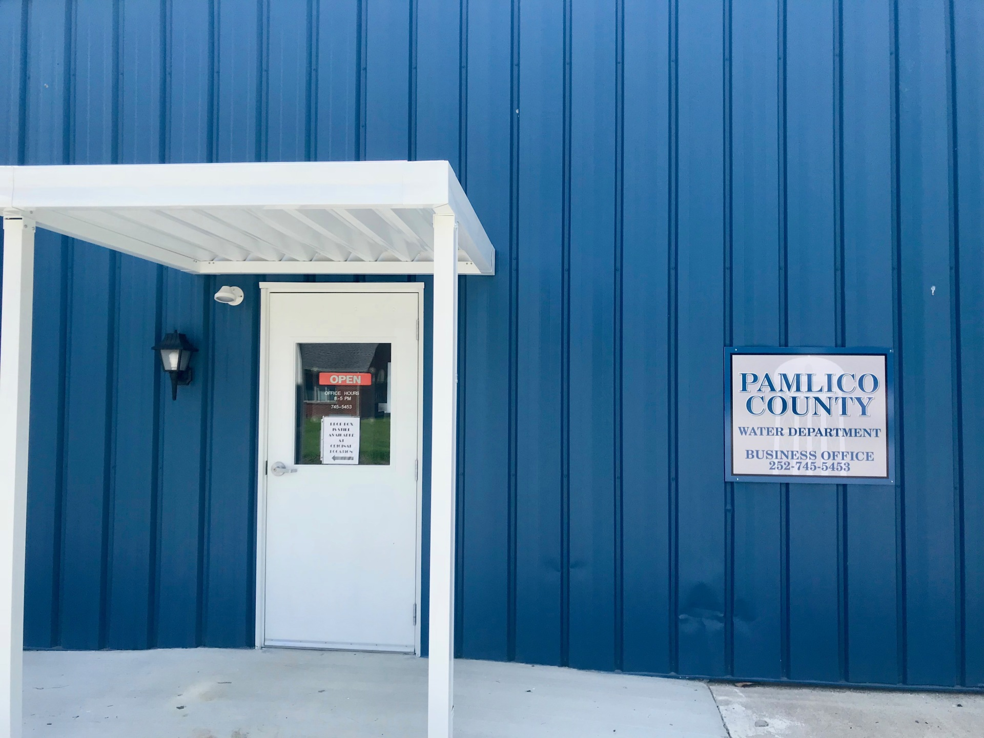 Pamlico County Water Department Remodel Bayboro