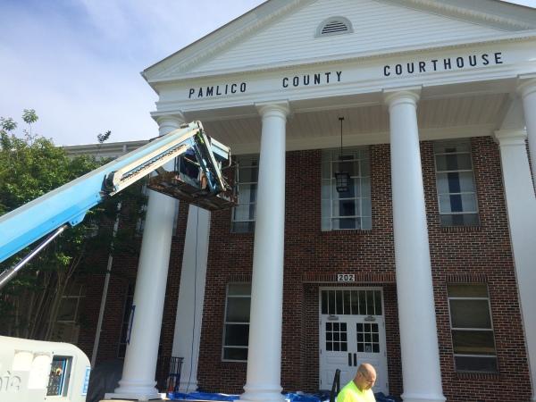 Pamlico County Courthouse Bayboro