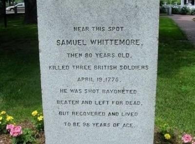 Samuel Whittemore - Patriot