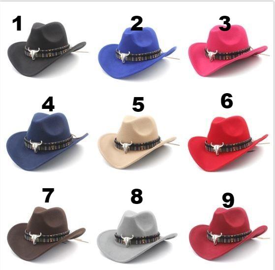 Cow Skull Cowboy Hat