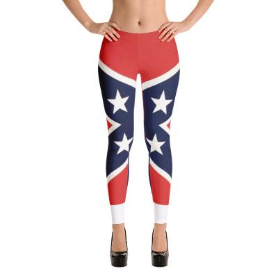 Rebel Flag Full Leggings