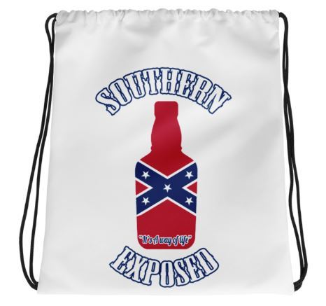 Southern Exposed Drawstring Bag