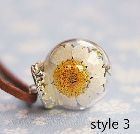 Southern Charm Dried Flower Necklace Click for options and styles