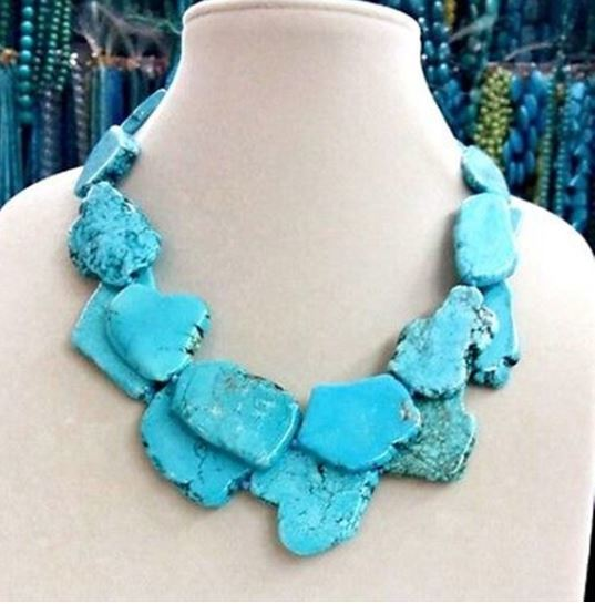 Chunky Stone Necklace Click for options and colors