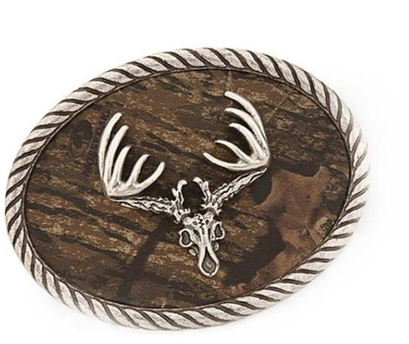 Stag Head Belt Buckle