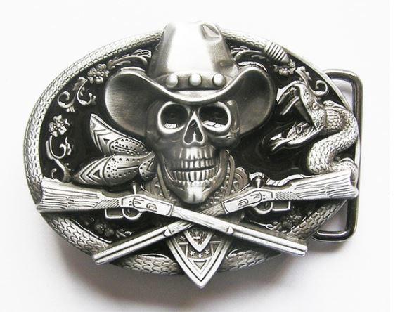 Cowboy Skull and Rifles