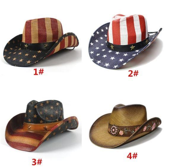 American Flag Cowboy/cowgirl hats