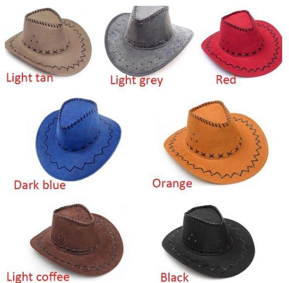 Fashion Vintage Western Cowboy Hats Common Unisex