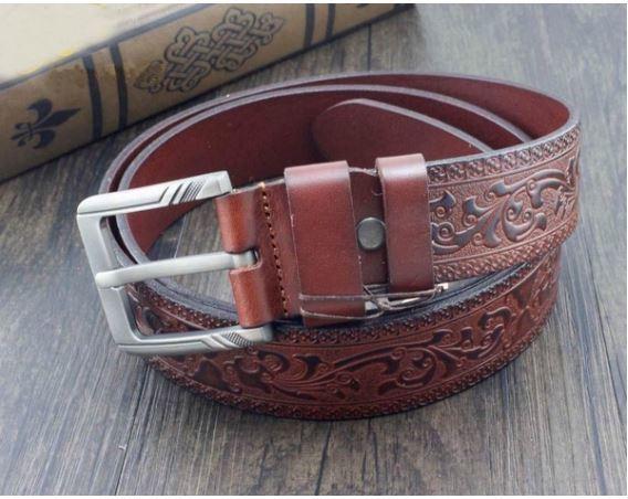 Mens Vintage Western Cowboy Belt