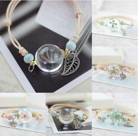 Dried Flower Bracelet