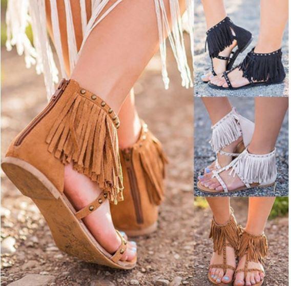 Moccasin Sandal