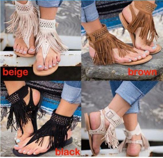 Gypsy Fringe Sandal
