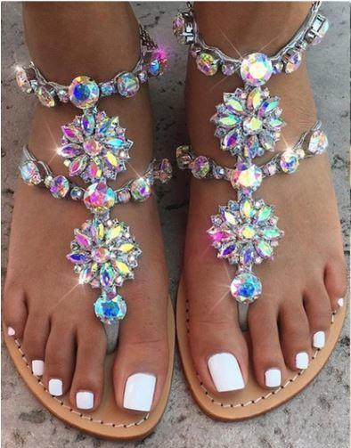 Gypsy Stone Sandal