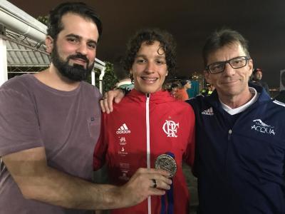 LINCOLN CUNHA FATURA 5 MEDALHAS NO BRASILEIRO JUVENIL DE INVERNO 2018