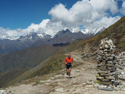 7 Feb: Andrew Porter: Running through the Himalayas