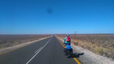 5 June: Steven Tucker: Mahokeng to Loxton on a Bicycle