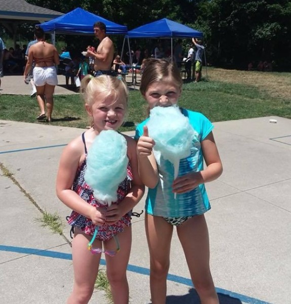 July 4th Cotton Candy