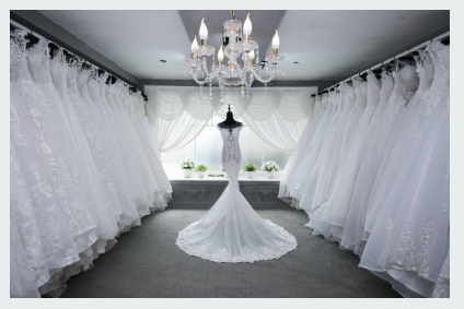 The Different Wedding Dresses