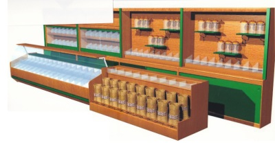 Display Design for Retail Chain