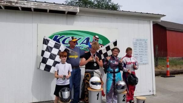 KART Sprint Series Racers