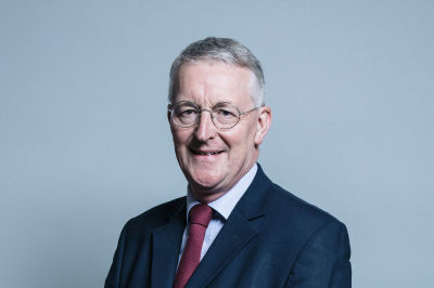 Chairman's Business Briefing with  Rt Hon Hilary Benn MP