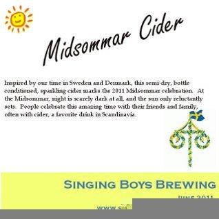 Midsommar Cider