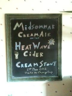 DIY Blackboard for Beer and Cider
