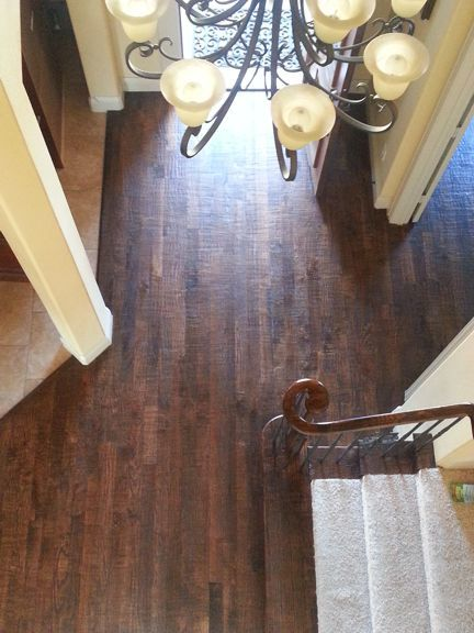 Custom wood floor